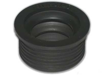 De Beer rubber manchet 5x3 cm, metaal