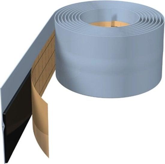 De Beer Koro Seal afdichtingstape rol 4 meter, grijs