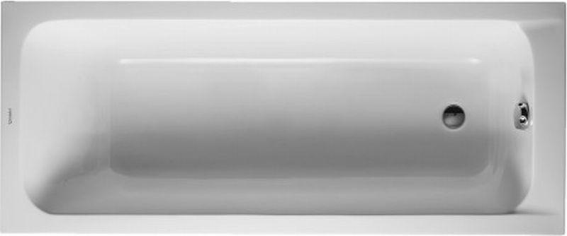Duravit D-code bad 170x70 cm zonder poten, wit