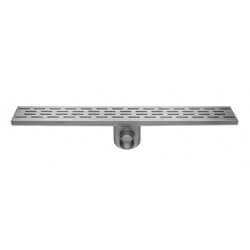 Easy Drain Fixt 50 afvoergoot 9,8x60 cm, met zijuitl, rvs