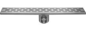 Easy Drain Fixt 50 afvoergoot 9,8x100 cm, met zijuitl, rvs