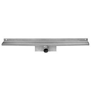 Easy Drain Compact Wall Zero afvoergoot 6x90 cm, zijuitlaat, rvs