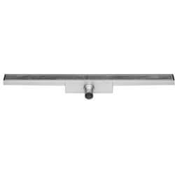 Easy Drain Compact 30 tegel douchegoot 120x6 cm, enkel, rvs