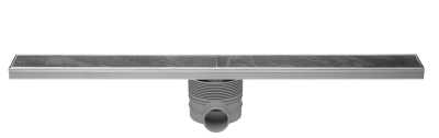 Easy Drain Multi Tegeldrain afvoergoot 100x9,8 cm met sifon, rvs
