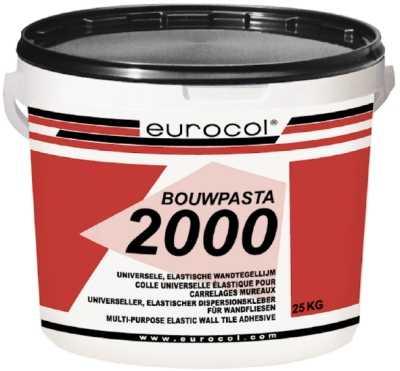 Eurocol 2000 Bouwpasta tegelpastalijm emmer � 18kg