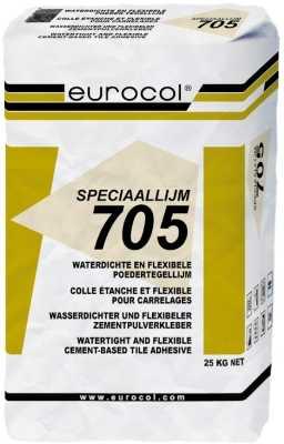Eurocol 705 Speciaal tegelpoederlijm zak � 25kg