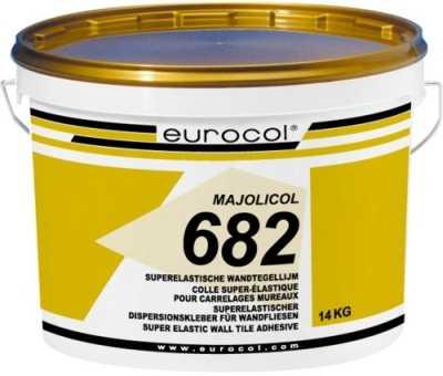 Eurocol 682 Majolicol pastategellijm emmer � 14kg