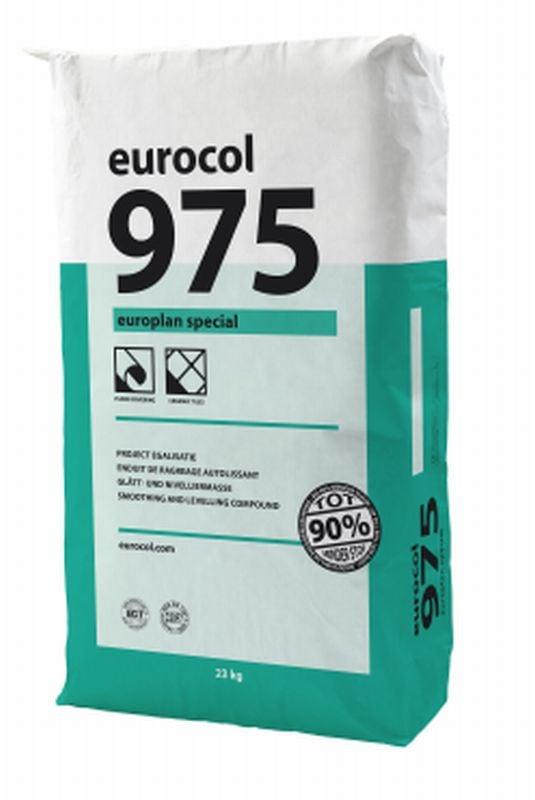 Eurocol 975 Europlan Special egaliseermiddel zak � 23kg