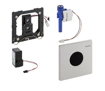 Geberit Mambo urinoir bedieningspaneel infrarood 230 V, RVS