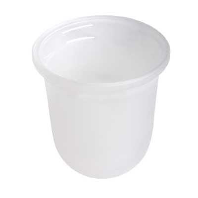Geesa Standard losse glazen inzet voor toiletborstel
