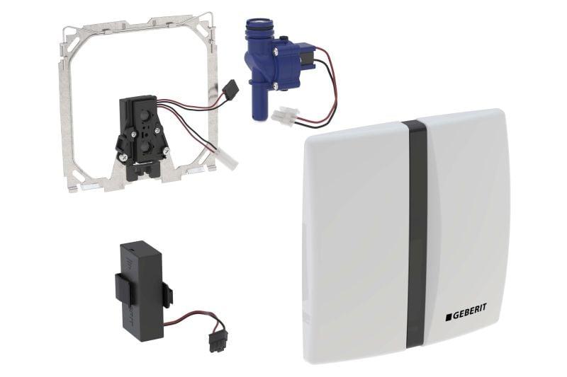 Geberit urinoir bedieningspaneel infrarood batterij, wit