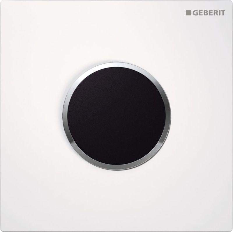 Geberit Type10 urinoir bedieningspaneel infrarood 230 V, wit/chroom
