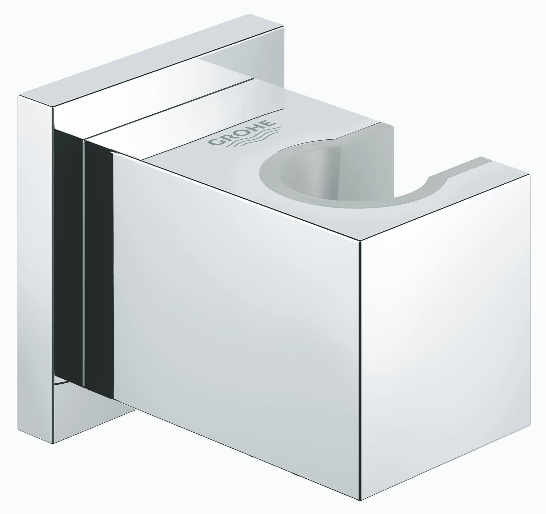 Grohe Euphoria Cube wanddouchehouder, chroom