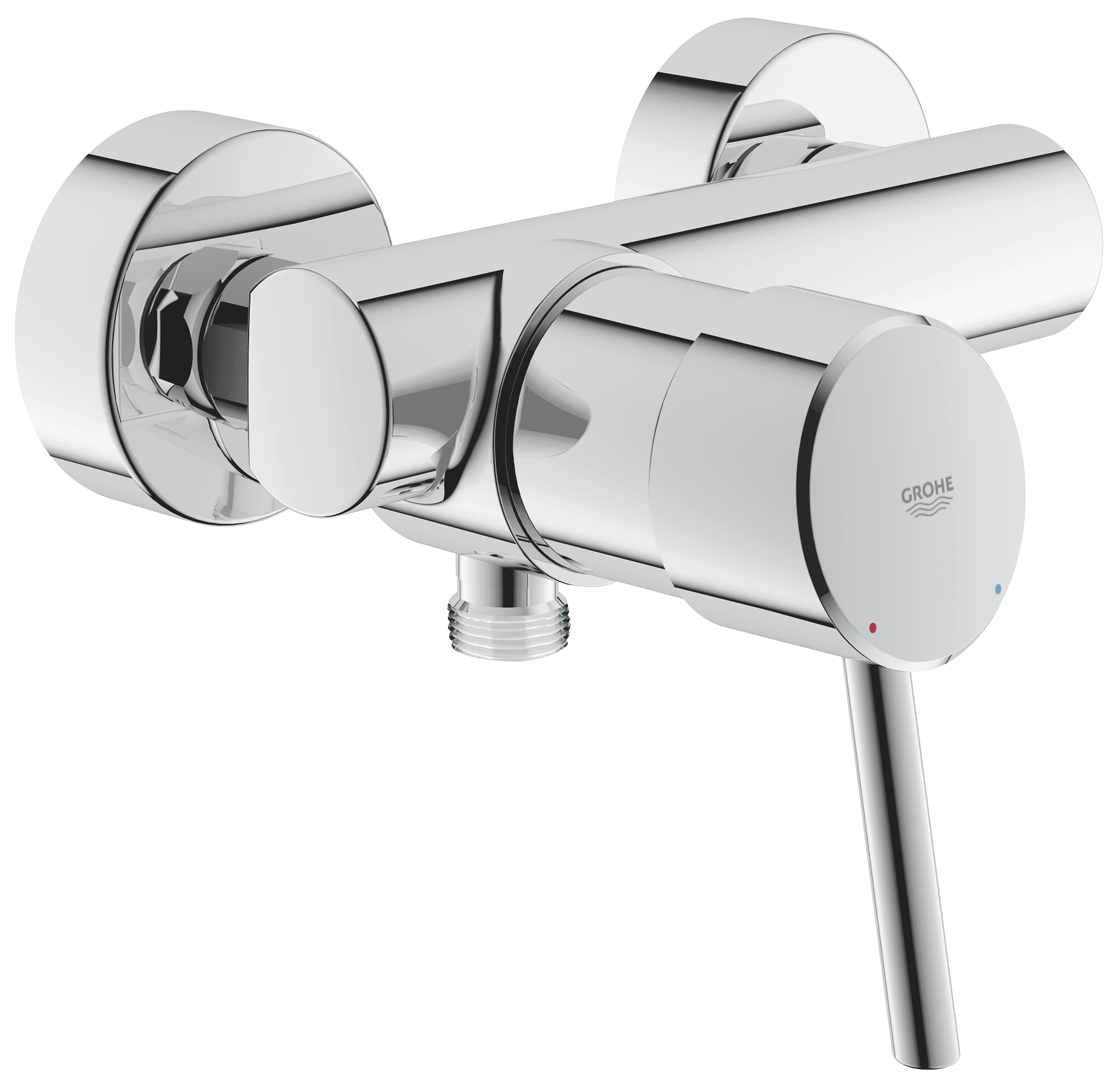 Grohe Concetto douchekraan 15 cm, chroom