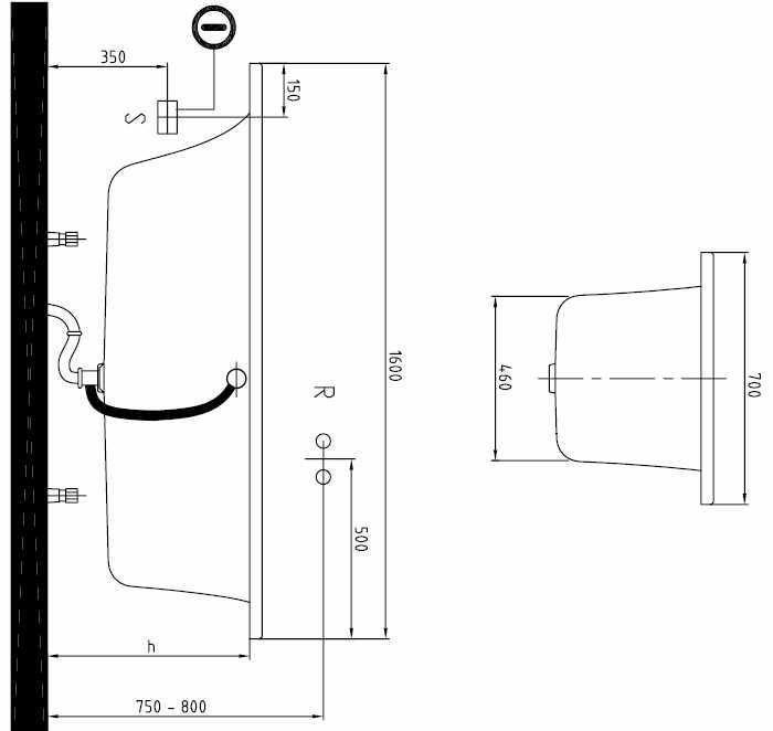 Villeroy & Boch Loop & Friends duobad rechthoek 160x70 cm, wit alpin