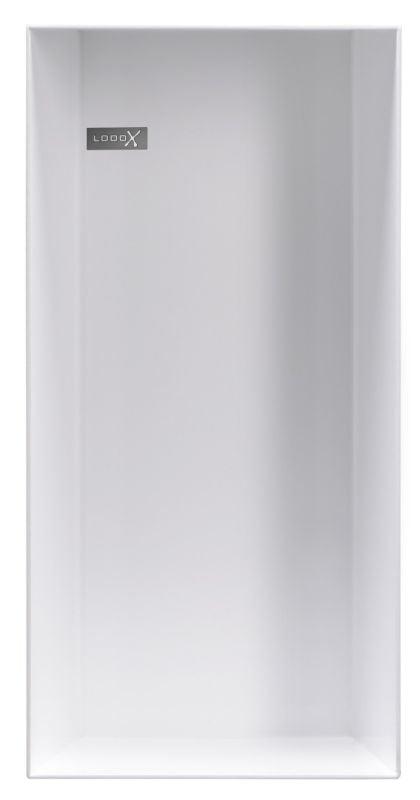 LoooX Colour BoX in-/opbouwnis 15x30x10 cm, wit