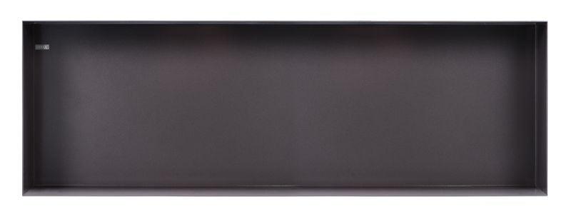 Looox Colour BoX inbouwnis badkamer antraciet CBOX60A