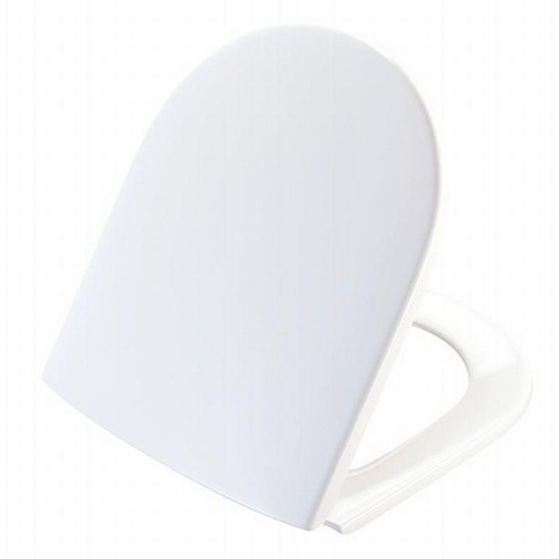 Pressalit Objecta d polygiene closetzitting met deksel, wit