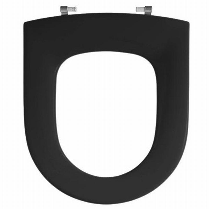 Pressalit Objecta closetzitting zwart 171111BD6999