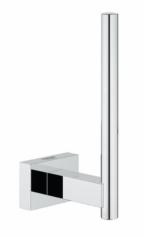 Grohe Essentials Cube reserverolhouder chroom