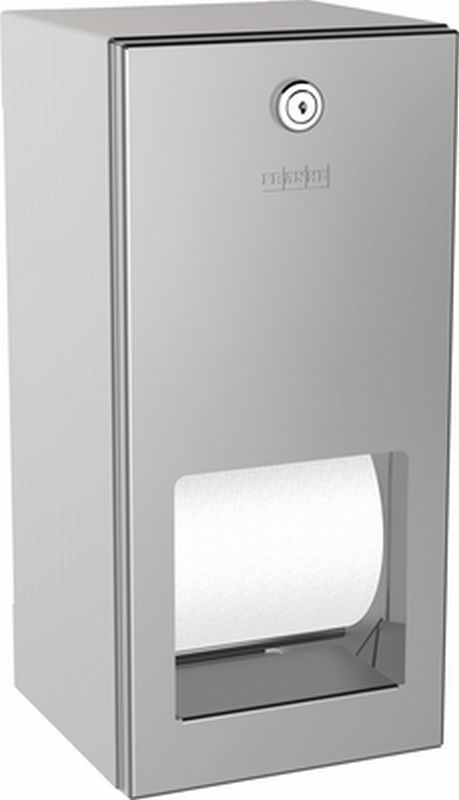 Franke Rodan dubbele closetrolhouder 14.4x30.1x13.8cm incl. bevestiging RVS