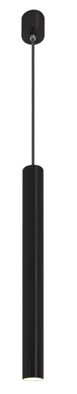 badkamermeubel Accessoires Badkamer verlichting LoooX Light hanglamp LED 40 mat zwart