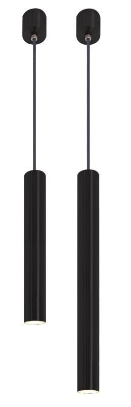 badkamermeubel Accessoires Badkamer verlichting LoooX Light hanglamp LED set 25 en 40 mat zwart