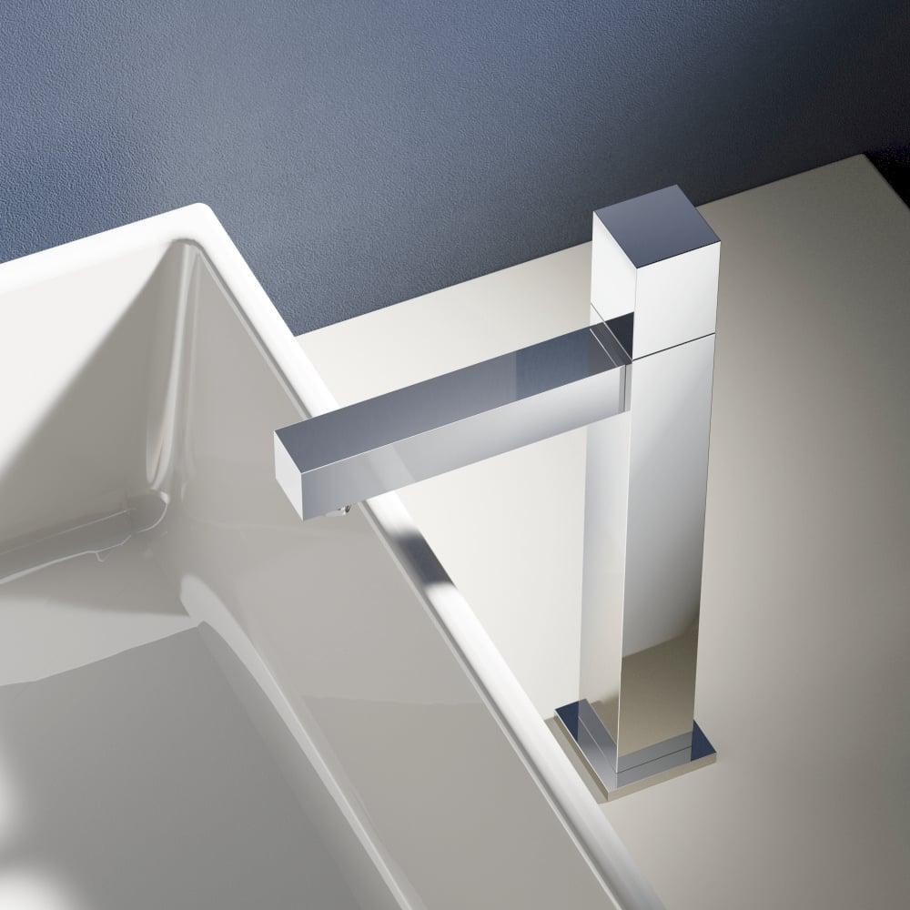 Hotbath Dude 1-knops fonteinkraan 23 cm hoog, chroom
