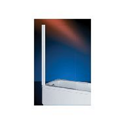 Plieger Royal badklapwand 6 mm glas 68x140 cm, chroom