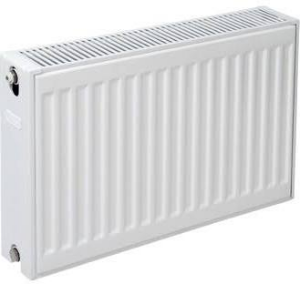 Plieger paneelradiator compact type 22 900x600 mm 1406 W, wit