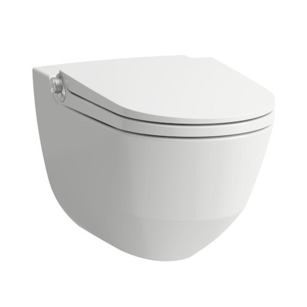 Productafbeelding van LAUFEN Cleanet Riva douche wc met softclose zitting, wit