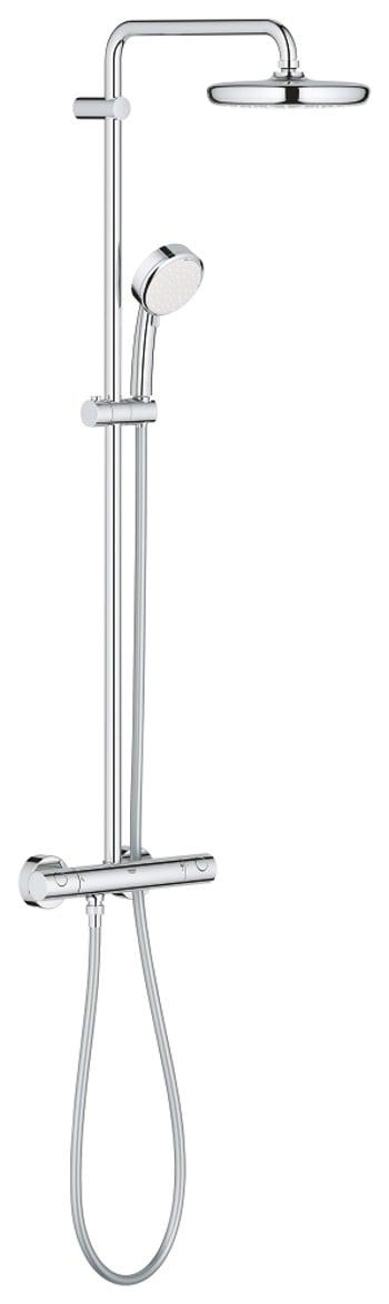 Grohe Tempesta Cosmopolitan 210 thermostatische doucheset met 2 straalsoorten, chroom