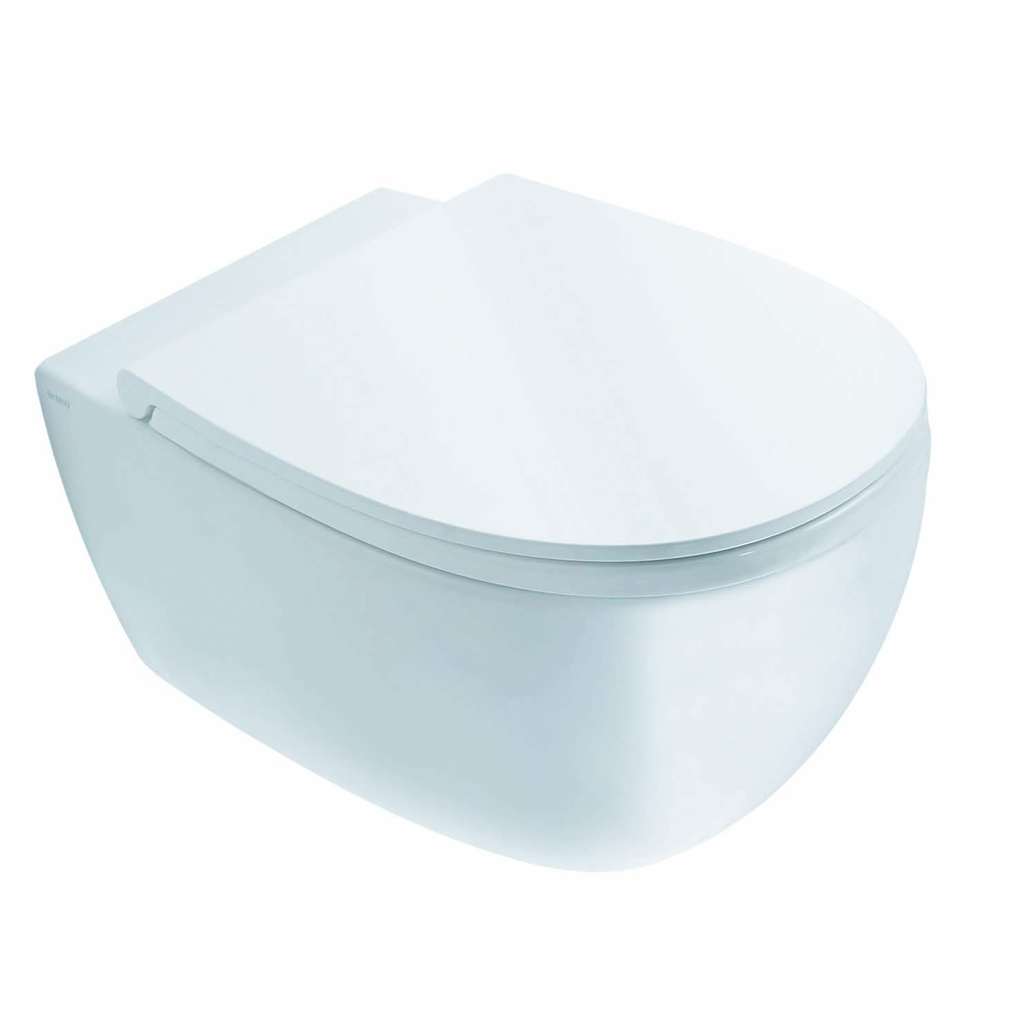 Globo 4ALL toiletzitting met softclose en quick-release 36 x 45 cm, wit