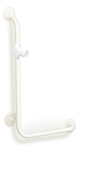 Handicare Ergogrip wandbeugel 90° rechts gebogen 50 x 100 cm, staal gecoat wit