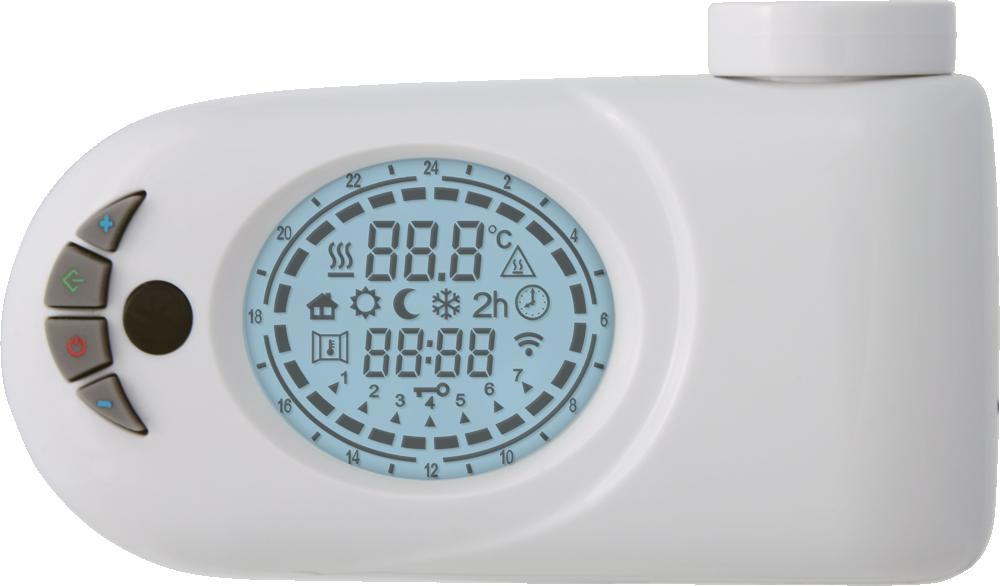 Instamat standaard digitale thermostaat klasse 2, wit