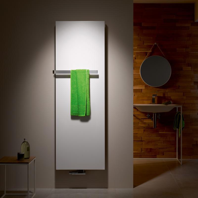 Instamat handdoekhouder voor Stretta radiator 670 mm, chroom-look