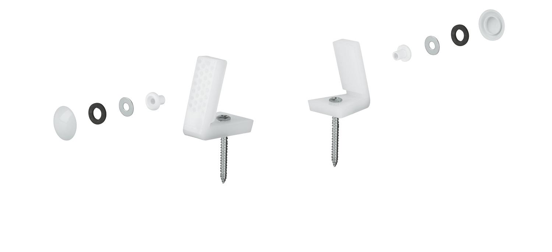 Grohe vloerbevestigingsset voor wc/bidet
