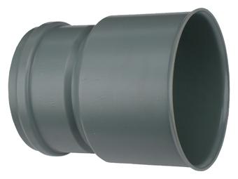 Wavin PVC manchet overgangsstuk 110x180mm SN4 1114111183