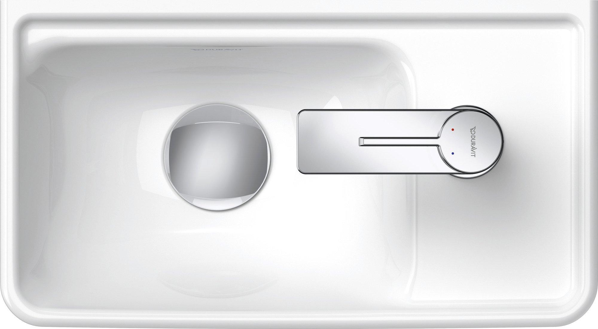 Duravit D-Neo fontein 400 mm, hoogglans wit