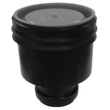 ACO Flexdrain puthuis onderuitlaat met steekmof 80 mm, zwart