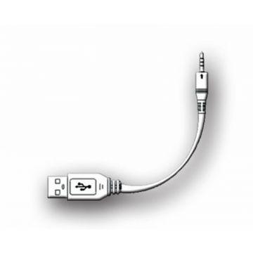 AquaSound kabel voor oplaadset compleet voor wipod, zwart
