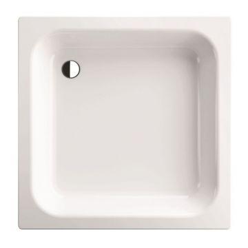 Bette plaatstalen douchebak vlak 80x80 x15 cm, wit