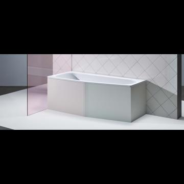 Bette Bambino plaatstalen bad 157x65x42 cm, rechts 3,5 mm, wit