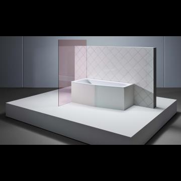Bette Bambino plaatstalen bad 157x70x42 cm, links 3,5 mm, wit