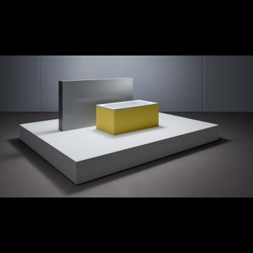 Bette Labette plaatstalen bad 108x73x38 cm, wit