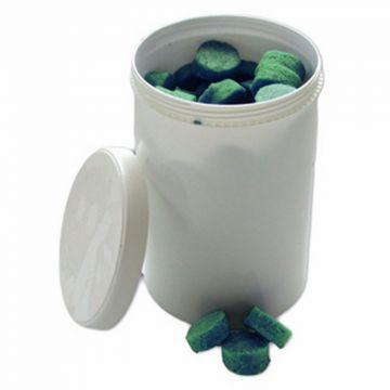 De Beer urinoir- en toiletblokjes citroengeur doosje à 57 blokjes, groen
