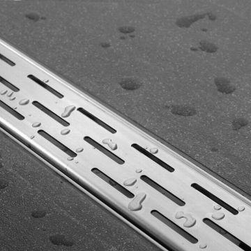 Easy Drain Compact FF 50 afvoergoot 6x70 cm zijuitlaat, rvs