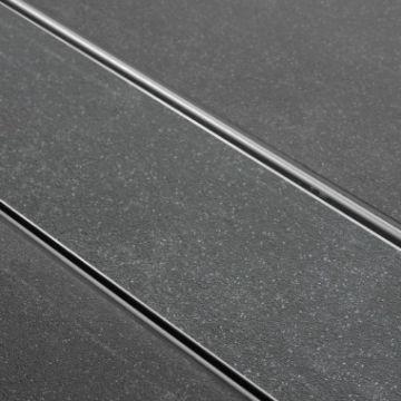 Easy Drain Multi Tegeldrain afvoergoot 80x9,8 cm met sifon, rvs