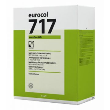 Eurocol 717 Eurofine WD voegmiddel pak à 5kg, manhattan grijs