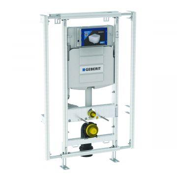 Geberit GIS module voor wand-wc, met Sigma inbouwreservoir 12cm, in breedte verstelbaar 60-95 cm